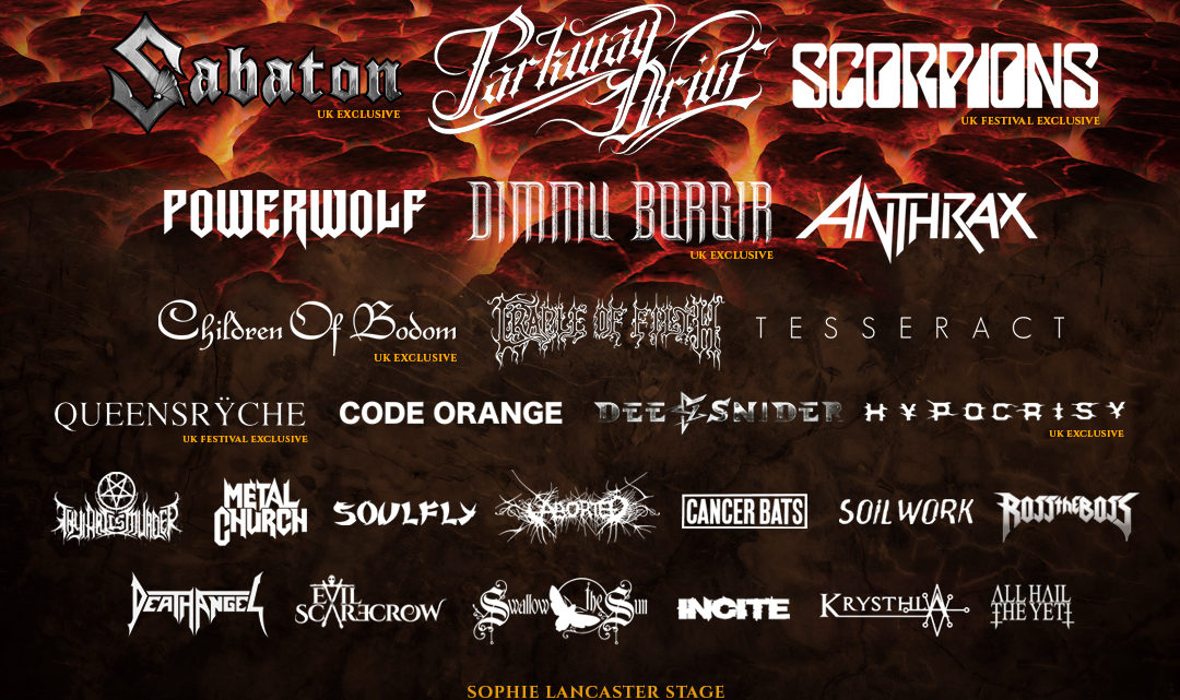 BLOODSTOCK reveal final bands for 2019