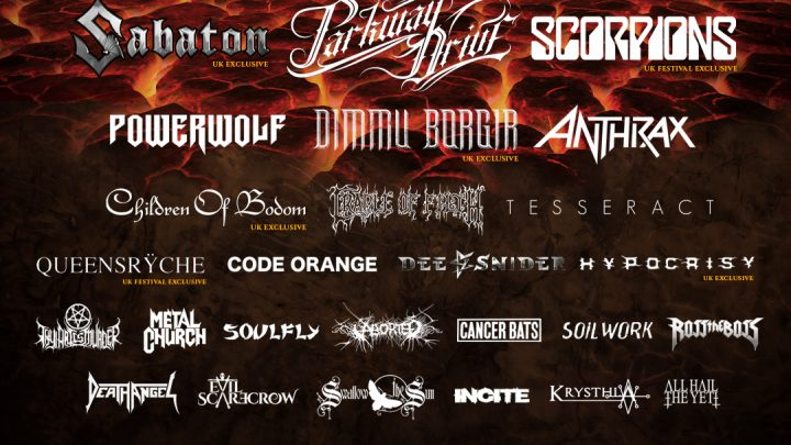 Bloodstock Open Air Festival- Friday 9th August (Catton Hall, UK)