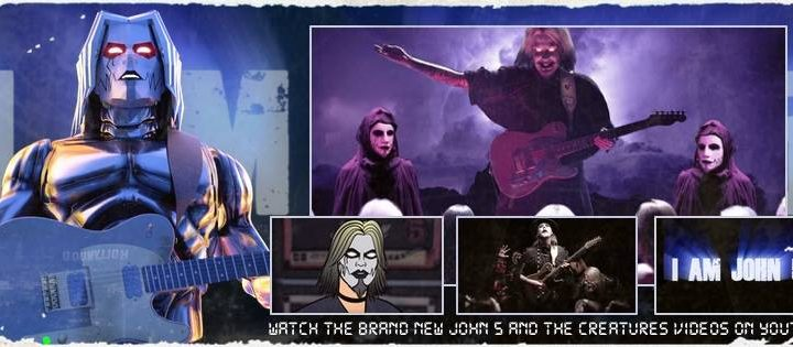 "JOHN 5 AND THE CREATURES Release New Album, ""Invasion"", Today + New Music Video for ""I Want It All"""