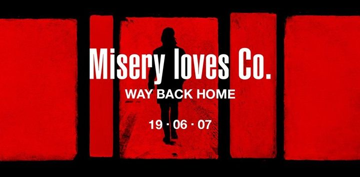 "Misery Loves Co – release new single ""Way Back Home"""