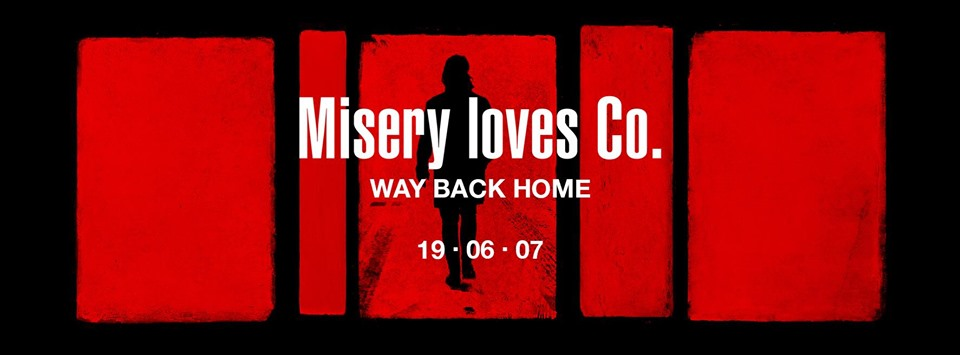 """Misery Loves Co – release new single """"Way Back Home"""""""