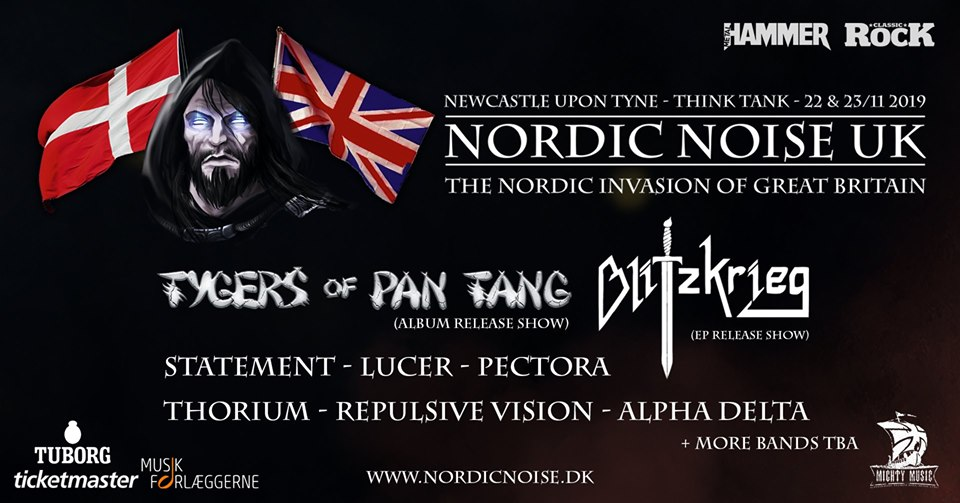 NORDIC NOISE invades the UK