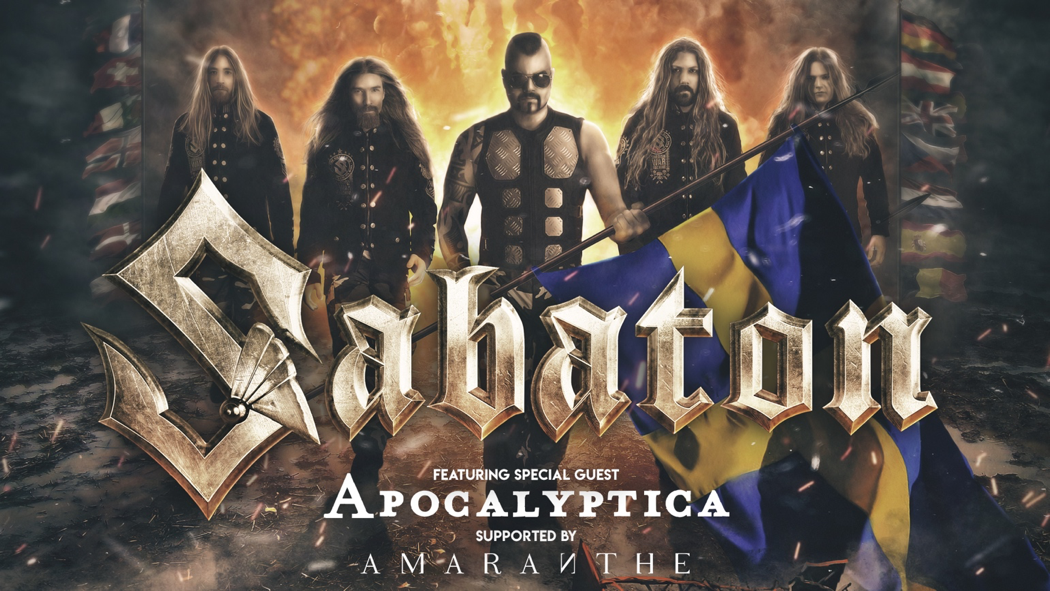 """SABATON Announce Wembley Headliner As Part Of """"The Great Tour"""", Launch Third Single """"Great War"""""""