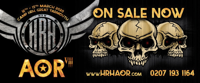 HRH AOR VIII Day Splits Revealed & Day Tickets Released!