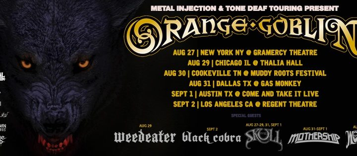 Interview With Joe Hoare Of Orange Goblin (Ramblin' Man 2019)