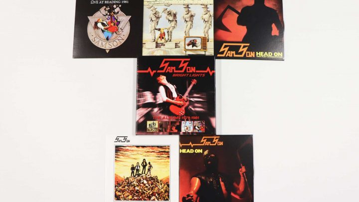 Samson: Bright Lights – The Albums 1979-1981, 5CD Boxset with Poster