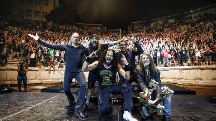 SONS OF APOLLO – 'Live With The Plovdiv Psychotic Symphony' trailer; pre-orders start