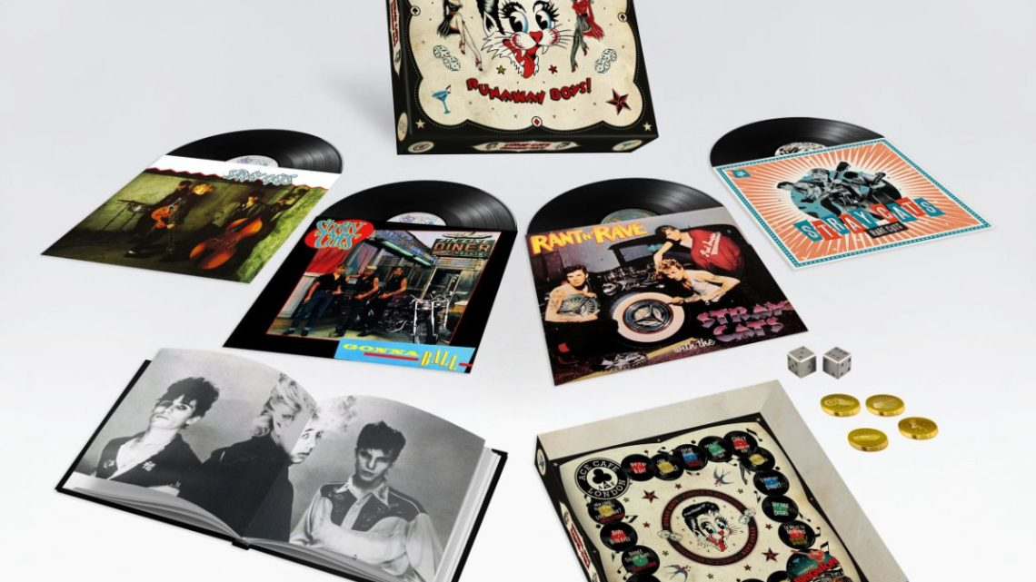 Stray Cats announce 'Runaway Boys' – a deluxe 40th anniversary vinyl boxset released September 27th via BMG