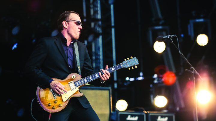Experience Joe Bonamassa live in concert from the comfort of your own home