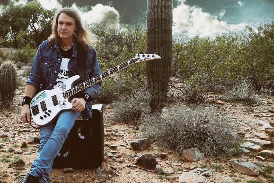Megadeth legend David Ellefson announces a brace of UK dates – including a very special one-off show featuring legendary former Judas Priest guitarist KK Downing!