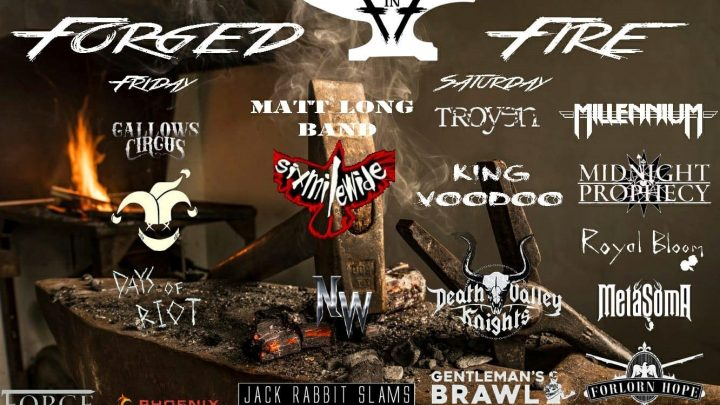 Forged in Fire 1 25-26 October 2019, Manchester