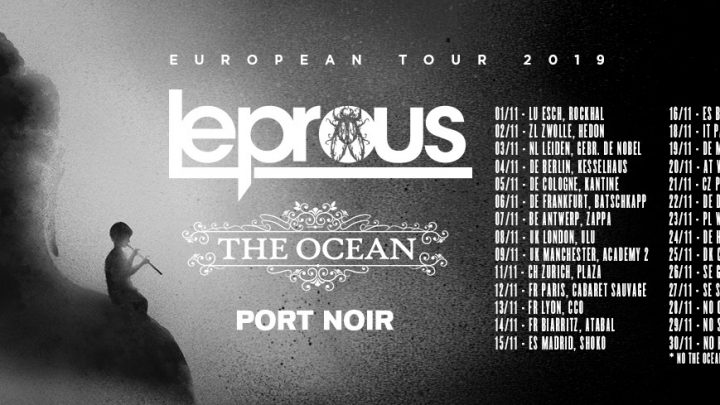 "Leprous announce new album ""Pitfalls"" / Released 25th October (InsideOutMusic) / European tour dates"
