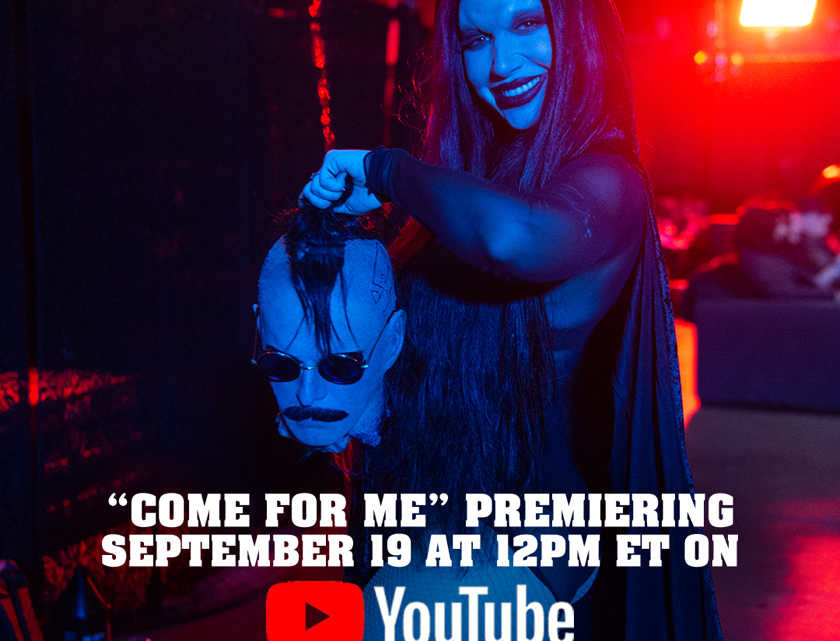 "NEW YEARS DAY to premiere official music video for ""Come For Me"" tomorrow (19th September 2019)"