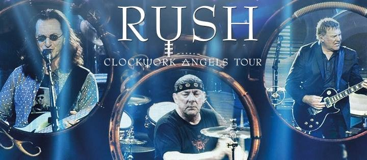 RUSH: CLOCKWORK ANGELS TOUR A 5LP SET