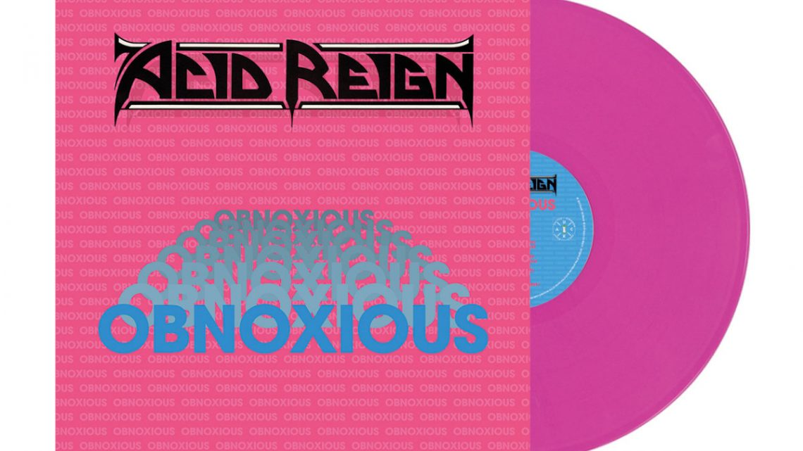 Acid Reign Frontman H Discusses Obnoxious 30 Years On