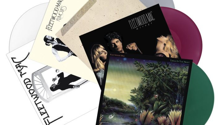 FLEETWOOD MAC CLASSIC ALBUMS  TO BE REISSUED ON COLOURED VINYL