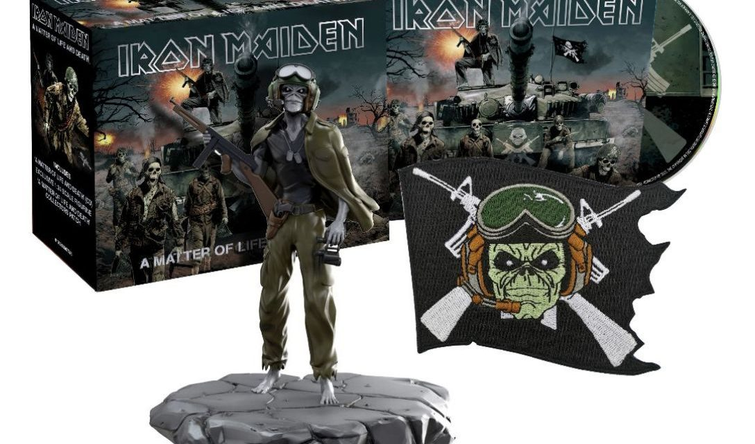 Iron Maiden release fourth and final set of 'The Studio Collection – Remastered'