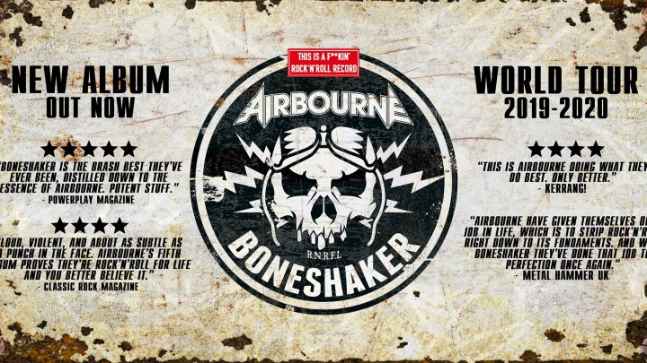 Airbourne – Liverpool O2 Academy- Friday 22 November 2019
