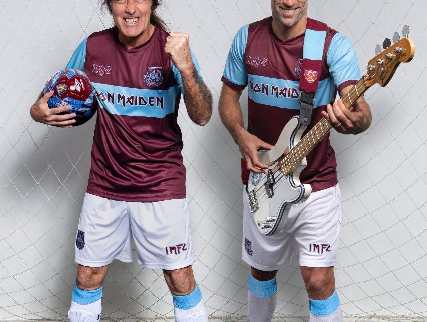Iron Maiden & West Ham United announce collaboration