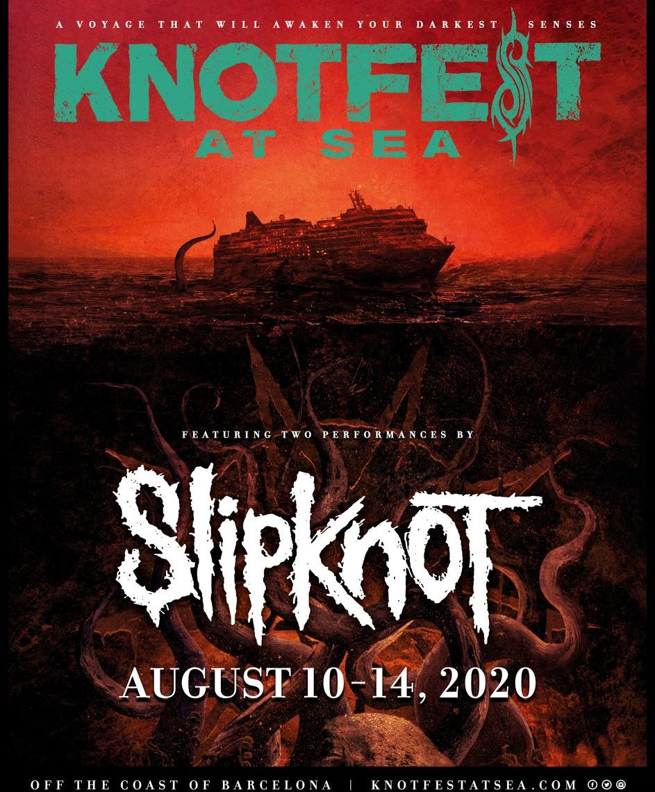 Knotfest Announces Inaugural Knotfest At Sea Cruise