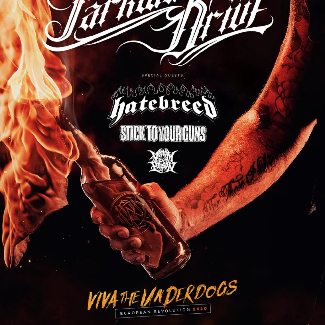 HATEBREED & VENOM PRISON join Parkway Drive in April 2020