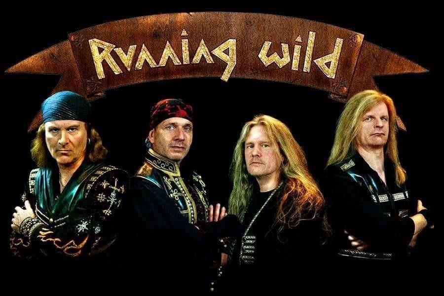 Running Wild – Crossing The Blades