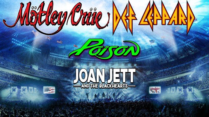 MOTLEY CRUE Stadium tour 2020