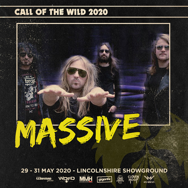 Heed 'The Call'!  Call of the Wild Festival announce further additions to the line-up and it's MASSIVE!