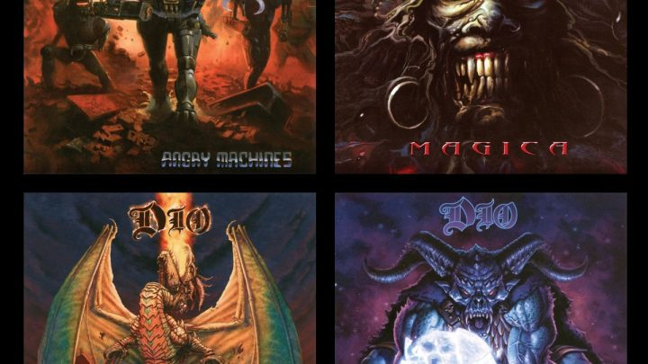 DIO's 1996-2004 Studio Album Collection Make Impressive Chart Debuts Around the Globe