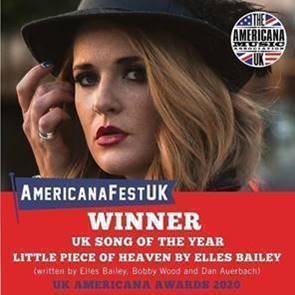 'A Little Piece of Heaven' Lives Up to Its Name  Elles Bailey wins UK Song of the Year!