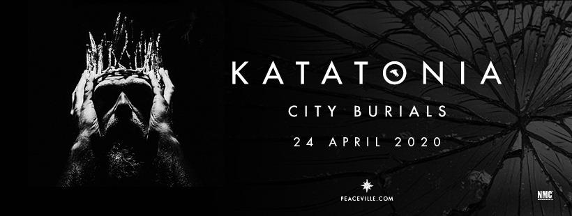 Katatonia release details on new album 'City Burials' / Premiere debut track 'Lacquer'