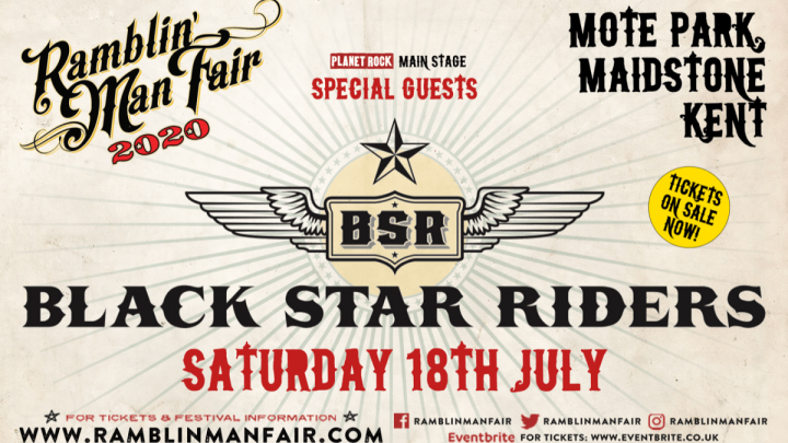 Ramblin' Man Fair – Announce Saturday Special Guest!