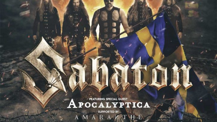 "SABATON AND APOCALYPTICA RELEASE NEW SINGLE ""ANGELS CALLING"""