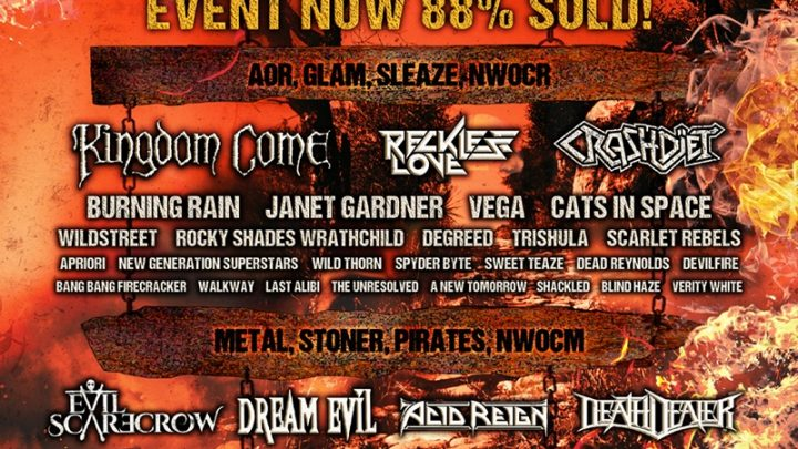 HARD ROCK HELL SPRING BREAK ANNOUNCES FIRST 50 BANDS AS IT HITS 88% SOLD AND IS ON TRACK TO SELL OUT NEXT WEEK