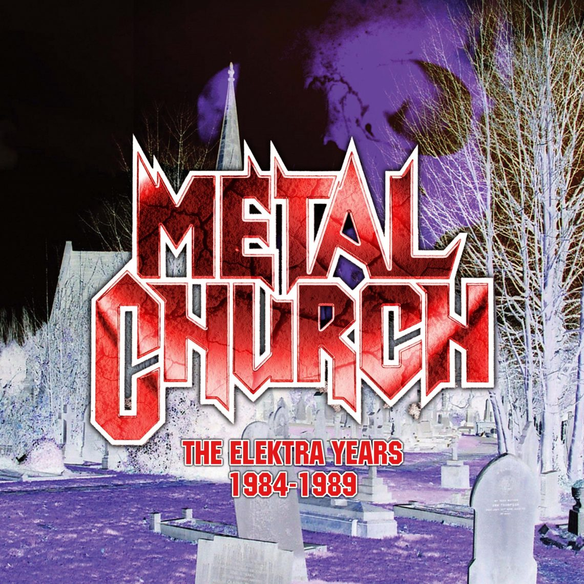 Metal Church: The Elektra Years 1984-1989, 3CD Remastered Gatefold Digisleeve