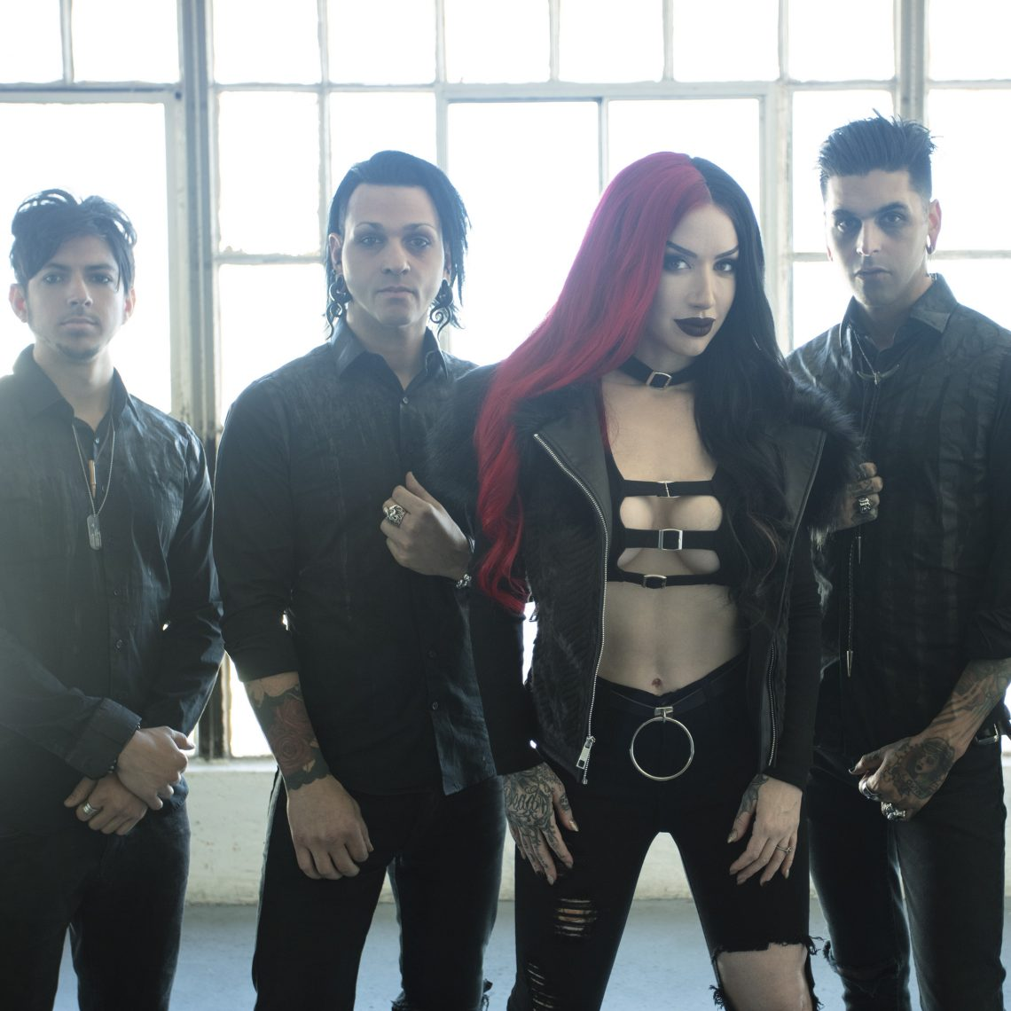"""NEW YEARS DAY Release New Lyric Video For """"Skeletons""""; Kick Off First UK & European Headline Tour"""