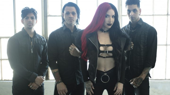 "NEW YEARS DAY Release New Lyric Video For ""Skeletons""; Kick Off First UK & European Headline Tour"