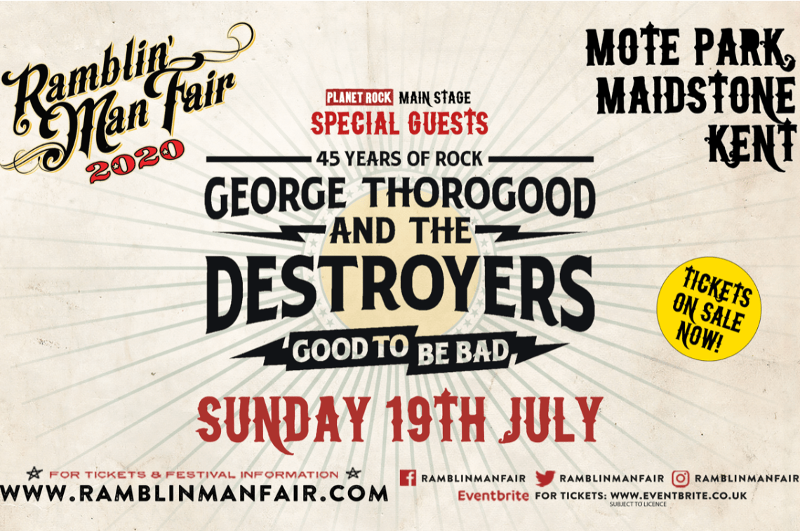 Ramblin' Man Fair – Announce More Acts!