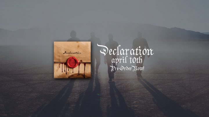"GRAMMY® nominated RED – Announce New Album ""Declaration"""
