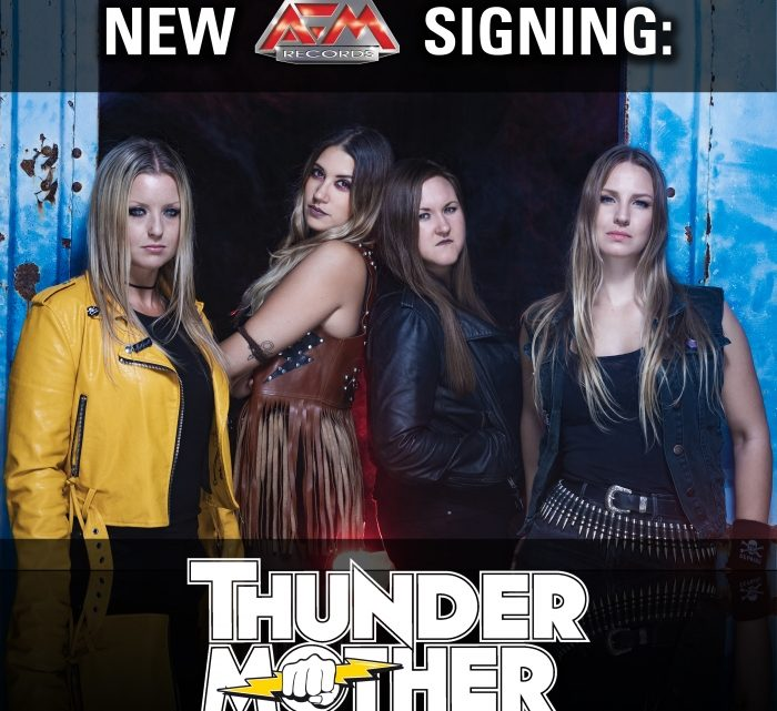 THUNDERMOTHER sign to AFM records, announce support to ROSE TATTOO on their upcoming European tour.
