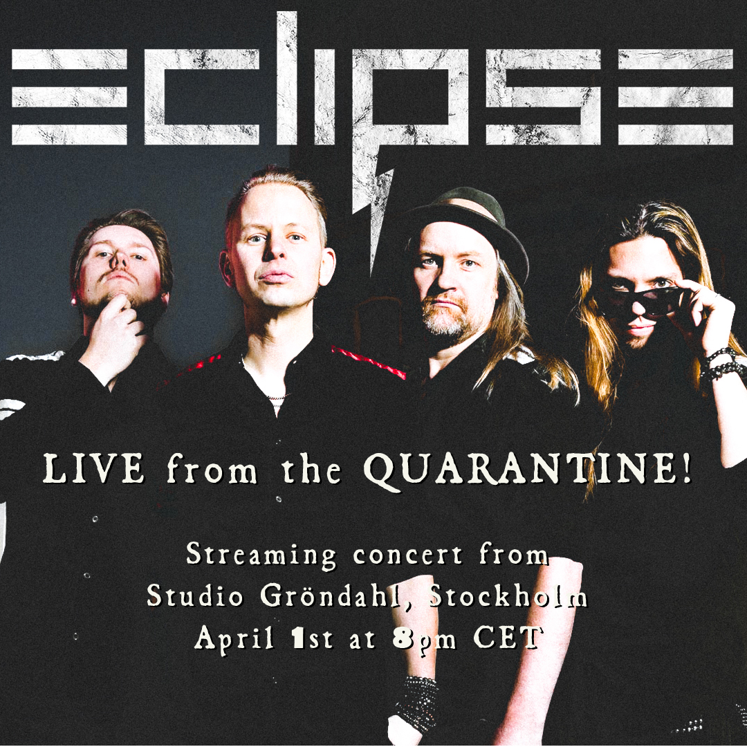Eclipse – Announce Online Concert after Tour Cancellation