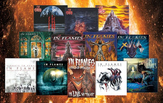 IN FLAMES  Enter worldwide partnership with Nuclear Blast for iconic back catalogue