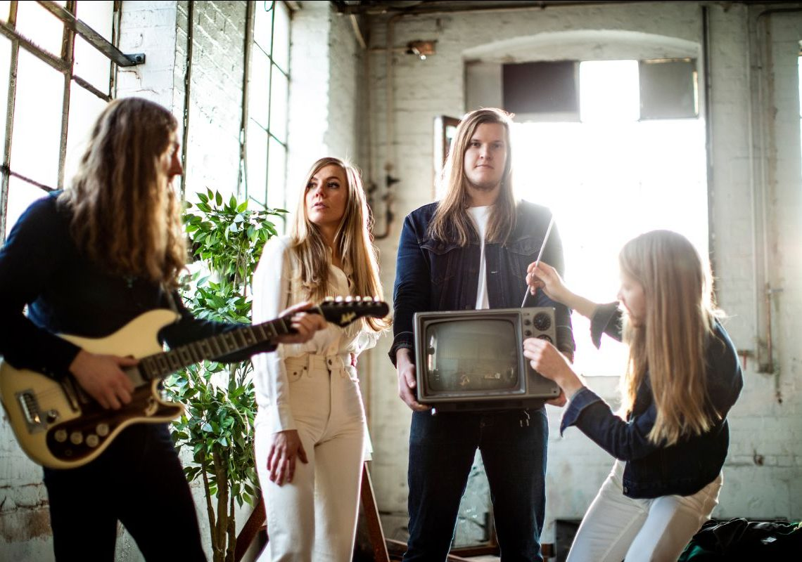 BLUES PILLS | Band release official video for new single 'Kiss My Past Goodbye'