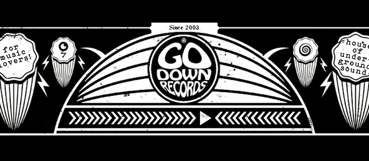 GO DOWN RECORDS to release brand new label sampler!