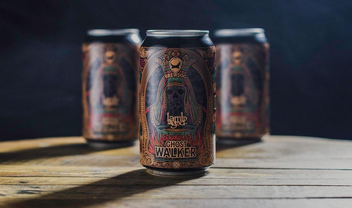 GHOST WALKER: BrewDog, LAMB OF GOD Release World's First Non-Alcoholic Collaboration Beer with Video Premiere