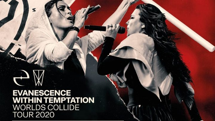 EVANESCENCE & WITHIN TEMPTATION ANNOUNCE RESCHEDULED DATES FOR THEIR 'WORLDS COLLIDE' TOUR