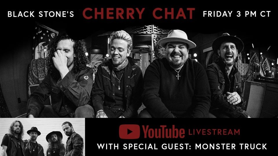 Black Stone Cherry Today Launches 'Cherry Chat' Episode 3. Ft. Monster Truck