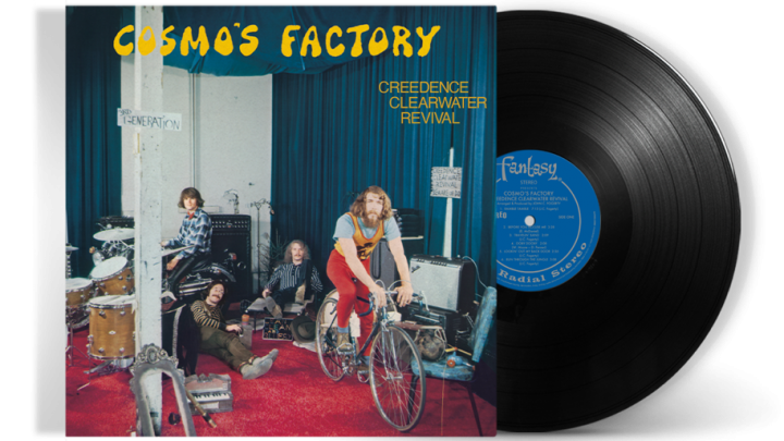 CREEDENCE CLEARWATER REVIVAL – COSMO'S FACTORY 50TH ANNIVERSARY