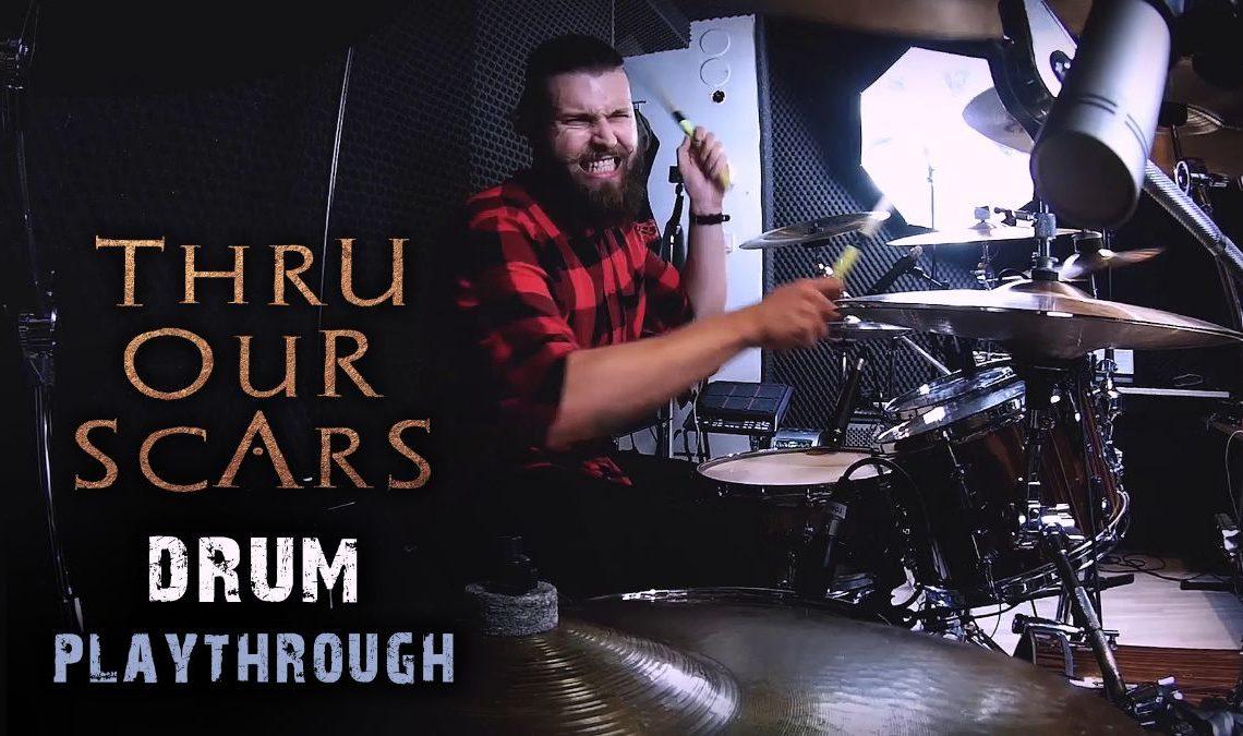 Fleshgod Apocalypse release drum playthrough video for 'Thru Our Scars'
