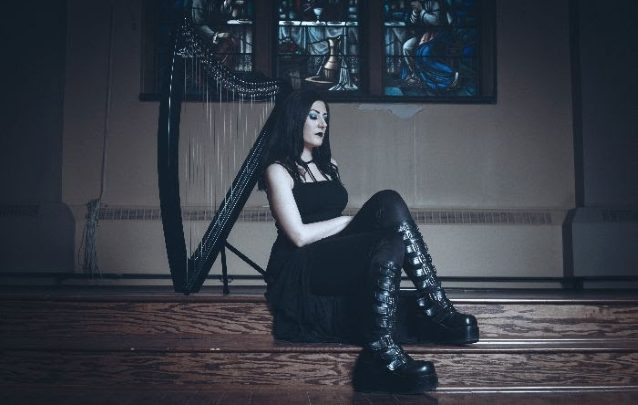 "Lindsay Schoolcraft (Formerly Cradle of Filth) re-issues debut EP ""Rushing Through the Sky"